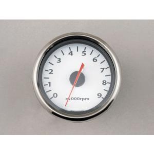デイトナ(DAYTONA)電気式タコメーター HD専用 9000rpm φ60 LED/ホワイトP[65709]|e-net