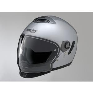 デイトナ(DAYTONA)NOLAN(ノーラン)フルフェイスヘルメット N43E ソリッド プラチナシルバー/1 M 78521|e-net