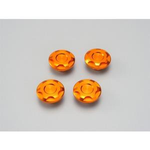 デイトナ(DAYTONA)ドレスアップボルトキャップ【M6】オレンジ[92096]|e-net