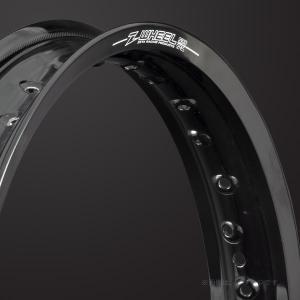 ZETA(ジータ) Z-WHEEL(Zウィール) S30リム リヤ ブラック(W02-23321) e-net