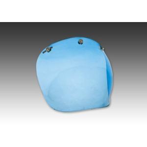 【K】イージーライダース(EASYRIDERS) バブルシールド ブルー ブルー[9794-BL]|e-net
