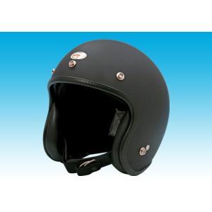 イージーライダース(EASYRIDERS) 70s スモールヘルメット マットブラック1 装飾用 フリーサイズ[9816-MB1]