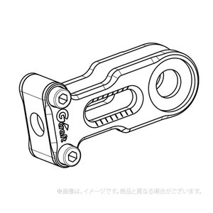 Gクラフト(G-Craft)Gクラフト モンキー125 ビレットチェーンアジャスター(31263)|e-net