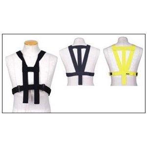 ヒットエアー(hit-air) オプション/リペアパーツ 胸部パッド用ハーネスB Yellow|e-net