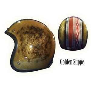 ヒートグループ CP-5 ジェットヘルメット GLITTER JET (GoldenSlippe/フリー) e-net