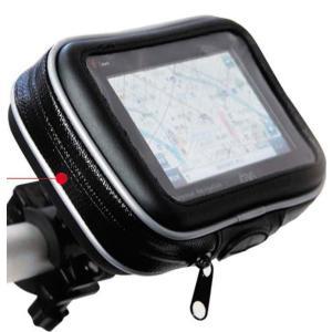 百鬼 HOLD-B3 バイク用 包・防滴マルチホルダー(5インチナビ&スマートフォン対応汎用タイプ)|e-net