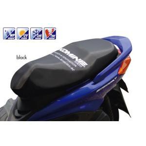 コミネ(KOMINE) AK-106 モーターサイクル シートカバー(ブラック・M)|e-net