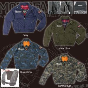 コミネ(KOMINE) JK-591 プロテクトスイングトップジャケット (ブルーカモフラージュ/M)|e-net