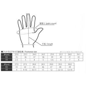 コミネ(KOMINE) GK-764 ウインドプルーフグローブ オタルダII(ブラック・2XL)|e-net|02