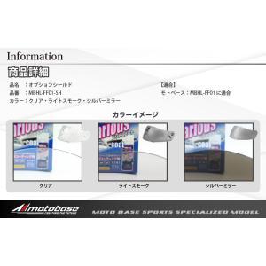 【在庫有】モトベース(MOTO BASE)専用オプションシールド/MBHL-FF01-SH|e-net|02