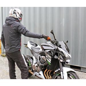 【在庫有】モトベース(MOTO BASE)秋冬春モデル 防風・防水 バイク用ジャケット プロテクション ウインドブレーカー ジャケット/MBWB-01 e-net 08