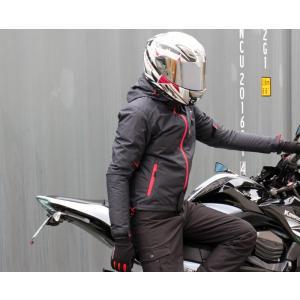 【在庫有】モトベース(MOTO BASE)秋冬春モデル 防風・防水 バイク用ジャケット プロテクション ウインドブレーカー ジャケット/MBWB-01 e-net 09