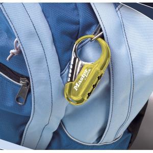 マスターロック(Master Lock)盗難防止用品 ナンバー可変式ロック(ブルー) 1547JADBLU|e-net|02