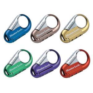 マスターロック(Master Lock)盗難防止用品 ナンバー可変式ロック(ブラウン) 1547JADBRN|e-net