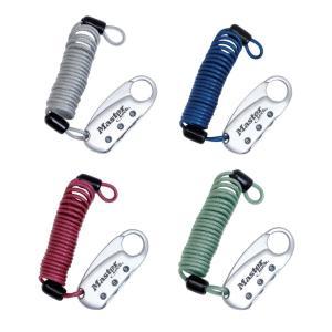 マスターロック(Master Lock)盗難防止用品 ダイヤル式コイルケーブルロック(ブルー) 1559JADBLU|e-net
