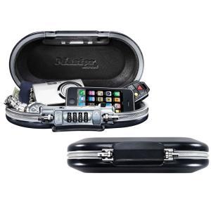 マスターロック(Master Lock)盗難防止用品 ポータブルパーソナルセーフ(ブラック) 5900JAD|e-net