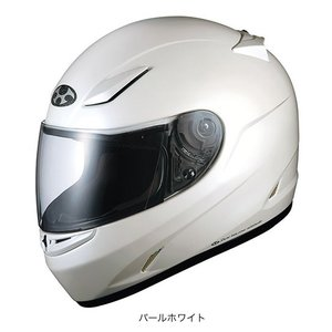 OGK(オージーケー) フルフェイスヘルメット FF-RIII(FF-R3) (パールホワイト/M(57〜58cm))|e-net