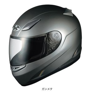 OGK(オージーケー) フルフェイスヘルメット FF-RIII(FF-R3) (ガンメタ/M(57〜58cm))|e-net