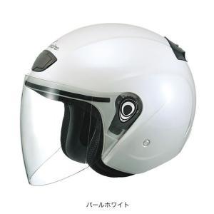 OGK(オージーケー) スポーツジェットヘルメット ヴェニーレ (パールホワイト/57〜59cm)|e-net