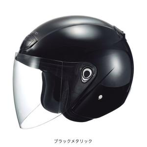 OGK(オージーケー) スポーツジェットヘルメット ヴェニーレ (ブラックメタリック/57〜59cm)|e-net