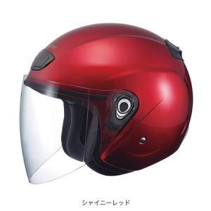 OGK(オージーケー) スポーツジェットヘルメット ヴェニーレ (シャイニーレッド/57〜59cm)|e-net