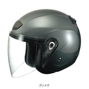 OGK(オージーケー) スポーツジェットヘルメット ヴェニーレ (ガンメタ/57〜59cm)|e-net
