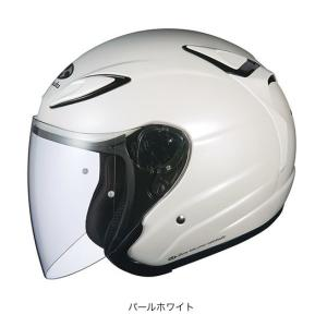OGK(オージーケー) スポーツジェットヘルメット AVAND(アバンド)・2 (パールホワイト/L(59〜60cm未満))|e-net