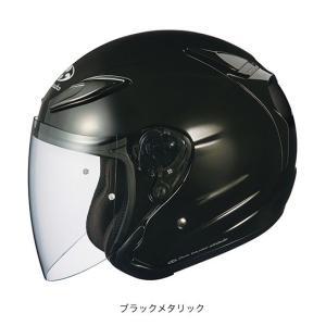 OGK(オージーケー) スポーツジェットヘルメット AVAND(アバンド)・2 (ブラックメタリック/L(59〜60cm未満))|e-net