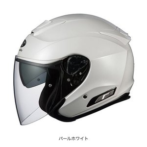 OGK(オージーケー) スポーツジェットヘルメット ASAGI(アサギ) (パールホワイト/M(57〜58cm))|e-net