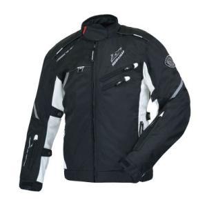 ラフ&ロード(ラフアンドロード)春夏モデル RR4011 SSFライディングジャケット(ブラック/ホワイト・XL)|e-net