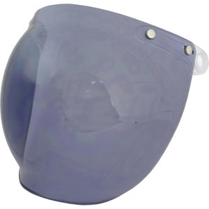 【在庫有】ライズ(RIDEZ) JB・ナックルヘッドヘルメット用オプション BB2シールド ライトスモーク e-net
