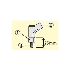 タナックス(TANAX) アダプター・ミラーオプション ミラー補修部品 NP-006(M10正ターナー・ブラック)|e-net