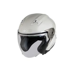 ウインズ(WINS)ジェットヘルメット MODIFY(モディファイ) X JET (パールホワイト・L)|e-net