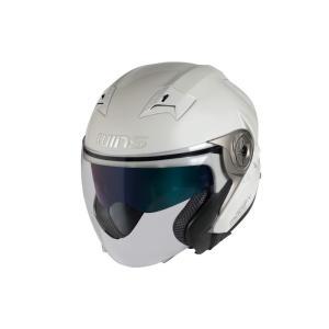 ウインズ(WINS)ジェットヘルメット MODIFY(モディファイ) X JET (パールホワイト・XXL)|e-net