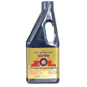 【在庫有】スーパーゾイル(ZOIL) オイル添加剤 (4スト)4サイクルエンジン用/450ml