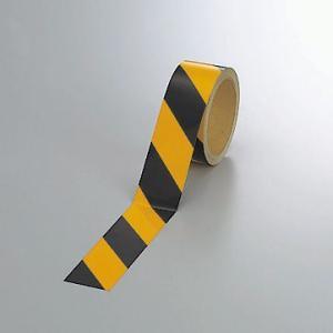 反射トラテープ(黄)45mm幅×10mm巻 374-05|e-netsign