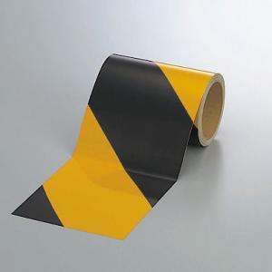 反射トラテープ(黄)150mm幅×10mm巻 374-07|e-netsign