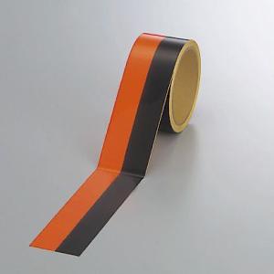 蛍光トラテープ50mm幅×5mm巻 374-09|e-netsign