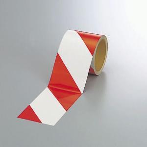 反射トラテープ(赤)90mm幅×10mm巻 374-12|e-netsign