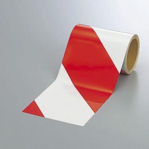 反射トラテープ(赤)150mm幅×10mm巻 374-13|e-netsign
