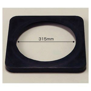 【5個1組セット】コーンウェイト【700mmH用ゴム製】黒色 385-41|e-netsign