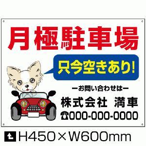 駐車場看板 【通常サイズ】駐車場募集看板 bosyu-01-d3|e-netsign