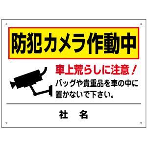 防犯カメラ作動中看板 T2-58|e-netsign