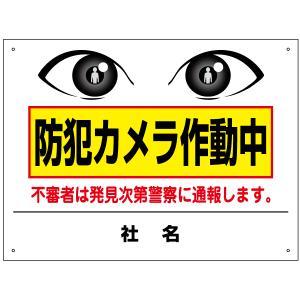 防犯カメラ作動中看板 T2-61|e-netsign