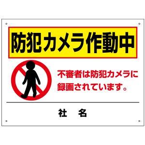防犯カメラ作動中看板 T2-65|e-netsign