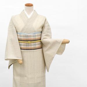 【20%OFF】サマーSALE丹波布 手紡ぎ 草木染め 手織り 八寸 名古屋帯 ベージュ e-obiya