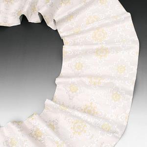 【40%OFF】サマーSALE綴織 西陣織 名門 志都香 謹製 華文様 袋帯 グレー e-obiya