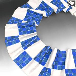 【帯10%offクーポン有♪】京丹後産 松田忍 謹製 Japan blue 蒼 袋帯 青|e-obiya