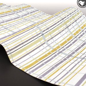 本袋帯 西陣織 伝統工芸士 日下和重 作   老舗 彩栄織物 謹製 大島泥糸 翁格子|e-obiya