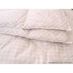 西川リビング ダブルサイズ 2枚わせタイプ羽毛掛け布団 (日本製) (ツインダウン) ハンガリー産シルバーグースダウン90%|e-ofutonya|05